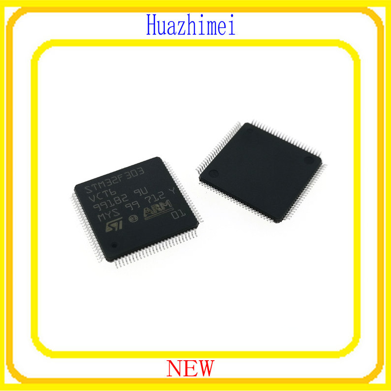 5PCS 10PCS/LOT STM32F303VCT6 STM32F303 32F303 пилочка для ногтей leslie store 10 4sides 10pcs lot