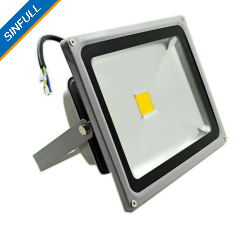 garden outdoor led floodlights ip65 waterproof 50w 85265v lamp square stadium garage spotlight billboard