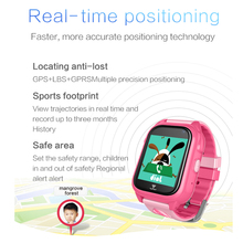Waterproof Anti-Lost GPS Smart Watch with SOS Function for Kids