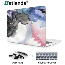 цена на Premium oil Printed Case For Macbook Air 11 a1465 air 13 2018 A1932 Hard Case Cover for 2018 New Macbook Pro 13 15