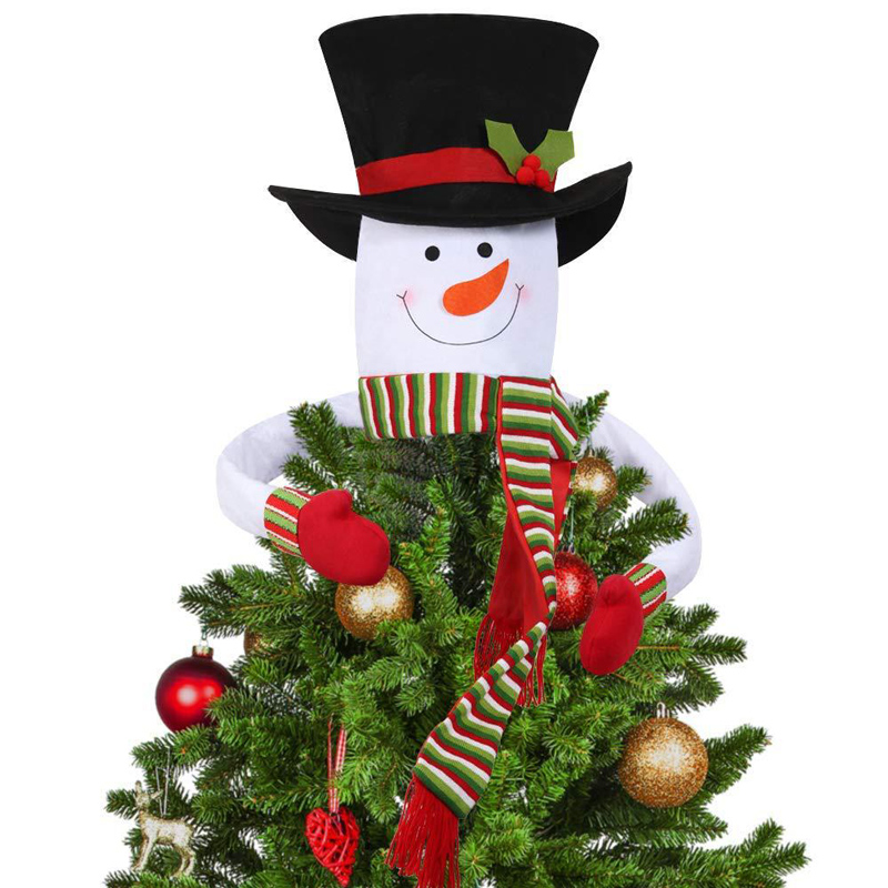 Christmas Tree Decorations For 2019: Snowman Of Tree Top 2019 New Christmas Tree Decorations