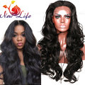heat resistant synthetic wigs with bangs cheap brazilian body wave resistant body wave synthetic lace front wig for black women