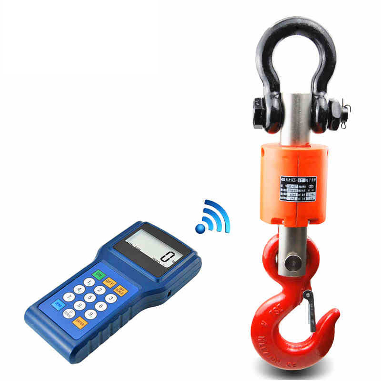 Wireless Digital Electronic Hanging Crane Scale Handheld Meter 3T 30kg high accuracy electronic price computing weighing scales digital hanging hook crane scale