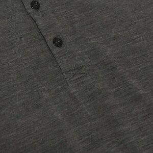 Image 4 - 100% australien Merino Täglichen Polo herren Kurzarm, herren Merino Wolle Täglichen Polo Hemd, 2 farben, 180GSM größe XS bis XL