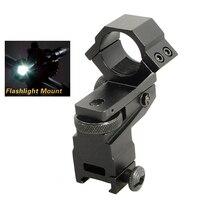Hot Sale 25 4mm Ring Tactical Laser Sight Flashlight Rifle Scope Mount Adjustable Elevation Windage For