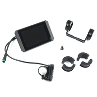 Color Screen KT LCD8 Electric Bicycle Display Panel For 24V 36V 48V E Bike Waterproof With USB 20.4x67x109mm Riding