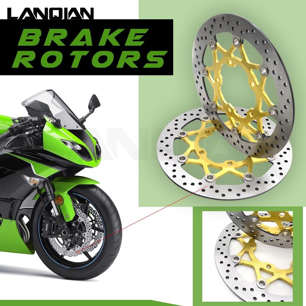 High quanlity motorcycle brake disc 2 pcs Brake Rotors FOR SUZUKI GSXR600/750 06-10 GSXR1000 K5 05-06High quanlity motorcycle brake disc 2 pcs Brake Rotors FOR SUZUKI GSXR600/750 06-10 GSXR1000 K5 05-06