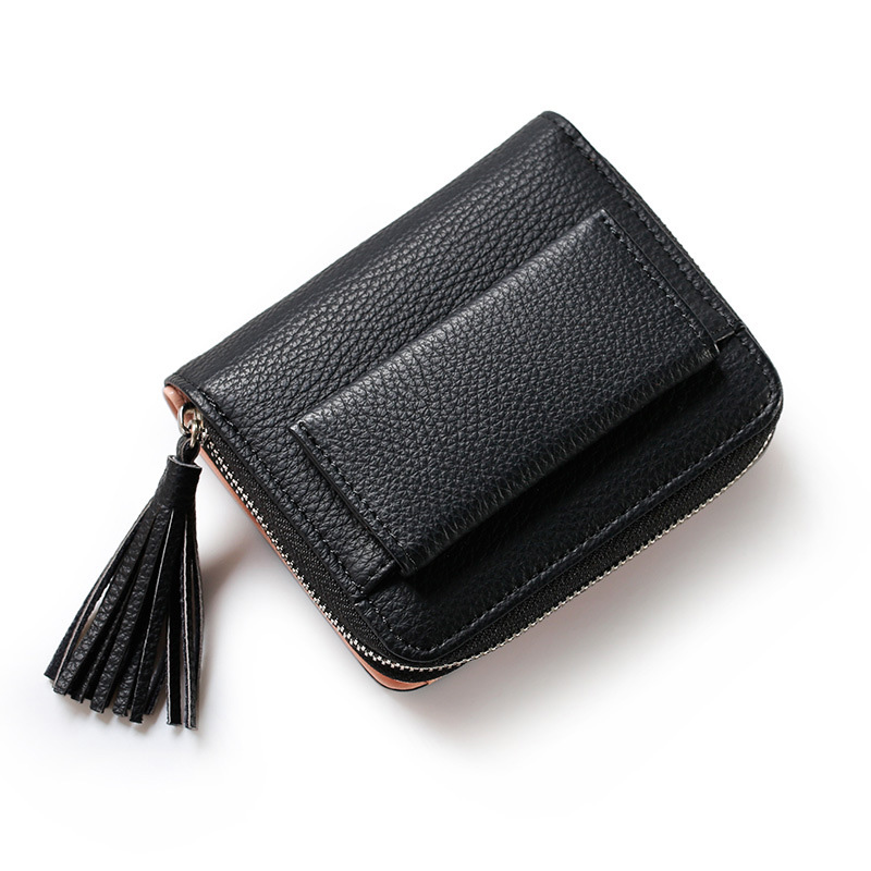 Women Coin Purse Female Tassel Pendant Short Money Wallets PU Leather Lady Zipper Mini Coin Purses Fashion Card Holders Monedero 2018 luxury brand women small wallets short money wallets pu leather lady zipper coin pocket purses female fashion card bag