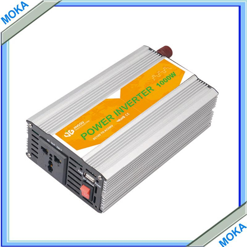 Подробнее о 1KW 1000W 1000 Watt Modified Sine Wave Power Inverter Home Car DC 12V to AC 100-120V Converter + USB 1200w 48v to 120v watt power inverter 48v inverter 120v power inverter modified sine wave form dc ac house power inverter 1200