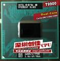 Envío libre intel cpu core 2 duo t9900 cpu del ordenador portátil 6 m caché/3.06 ghz/1066/dual-núcleo socket 479 procesador t9600 p9600 gm45 pm45