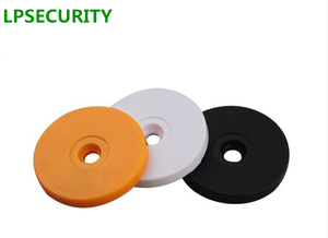 Image 2 - LPSECURITY 100pcs 125Khz RFID EM4100 Coin Tags Card for Access Control Guard Tour Patrol System Checkpoint
