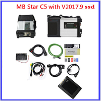 A Quality Full Chip V2017 12 Software Ssd Super Fast MB STAR C5 MB SD Connect