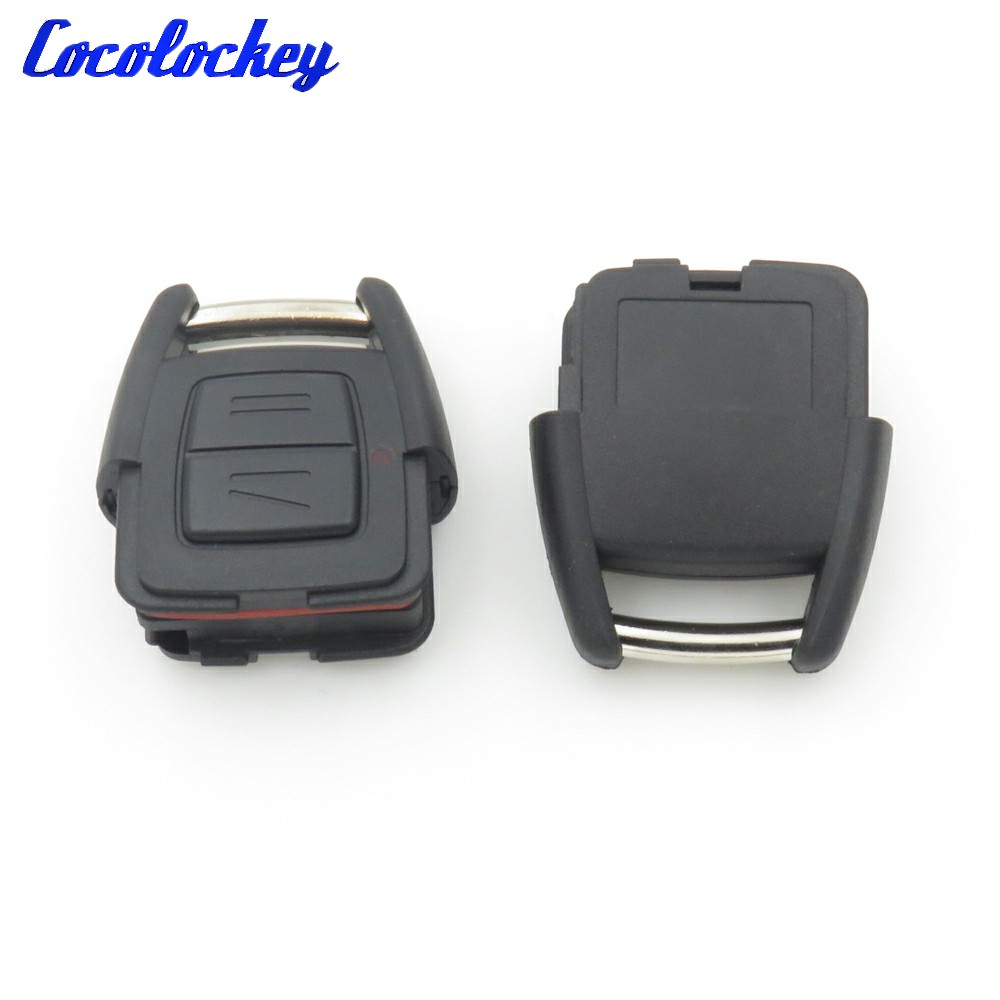 1pcs for VAUXHALL OPEL ASTRA G ZAFIRA VECTRA C REMOTE KEY FOB CASE 2 BUTTONS 2x 18 smd led license plate light module for opel vauxhall vectra c estate caravan