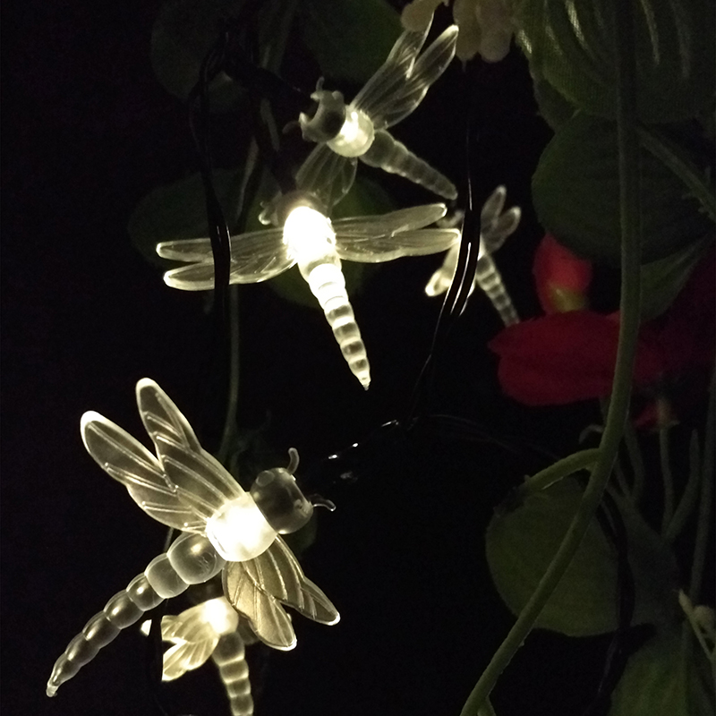 Yiyang garden outdoor novelty dragonfly 10m 60leds led solar lamps yiyang garden outdoor novelty dragonfly 10m 60leds led solar lamps bulbs fairy string lights garden path decorative lightings in led string from lights aloadofball Gallery