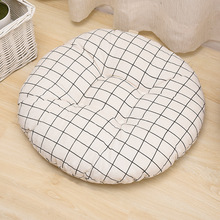 Round Seat Cushion Bohemia Style Soft 40*40cm Indoor Outdoor Chair Sofa Throw Pillow for Office