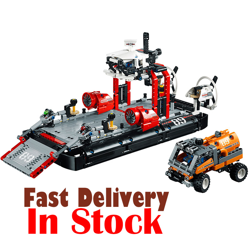LEPIN 20078 Hovercraft Technic Model Building Blocks Bricks Toys DIY For children gifts 1101pcs Compatible with legoINGly 42076 lepin diy model pirates the flagship huge ship building kit blocks bricks gifts compatible with legoingly kids toys for children