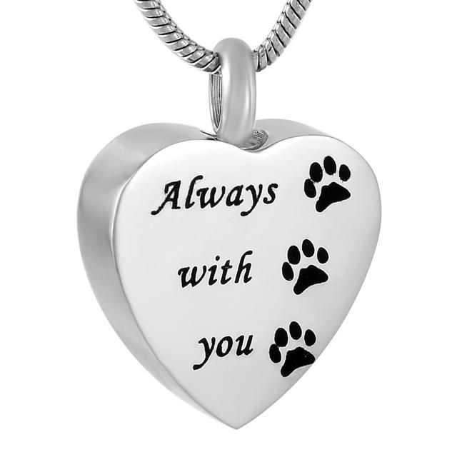 Memory Of Dog Urn Necklace
