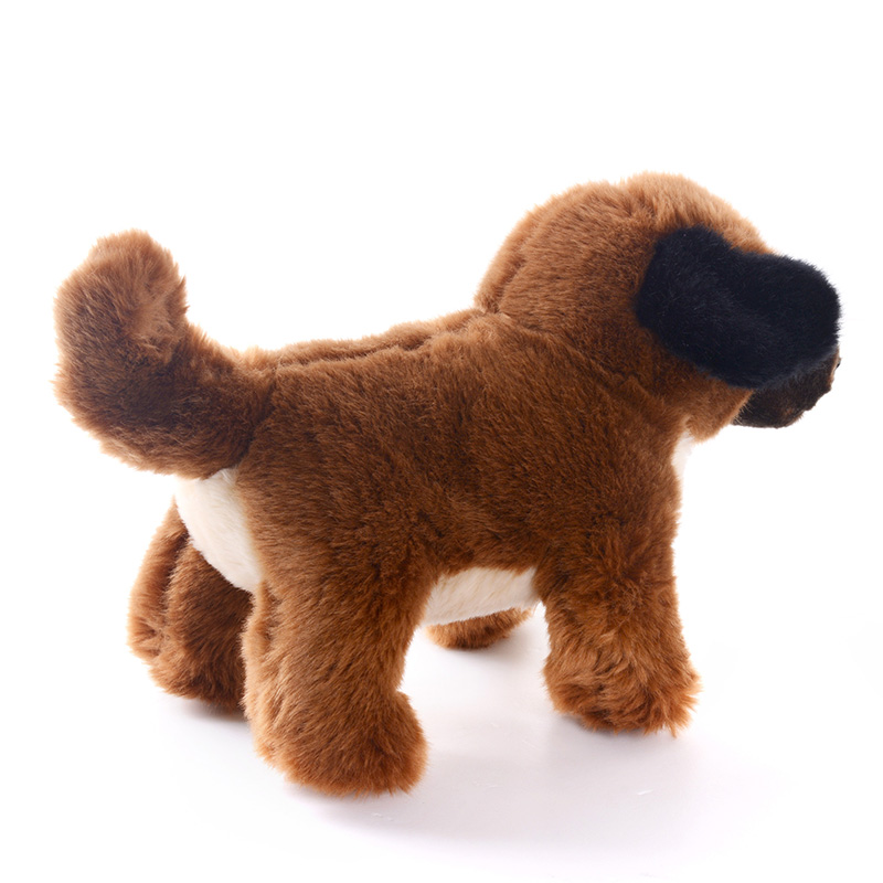 Delivery USA Simulation Stuffed Animal Dog Dolls Plush Toys Birthday Gifts For Kids Children Collection 1243010cm In Animals From