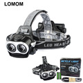 XM-L T6 High Power 1000 Lumen Zoom USB Rechargeable Bike Light Led Headlamp for Camping