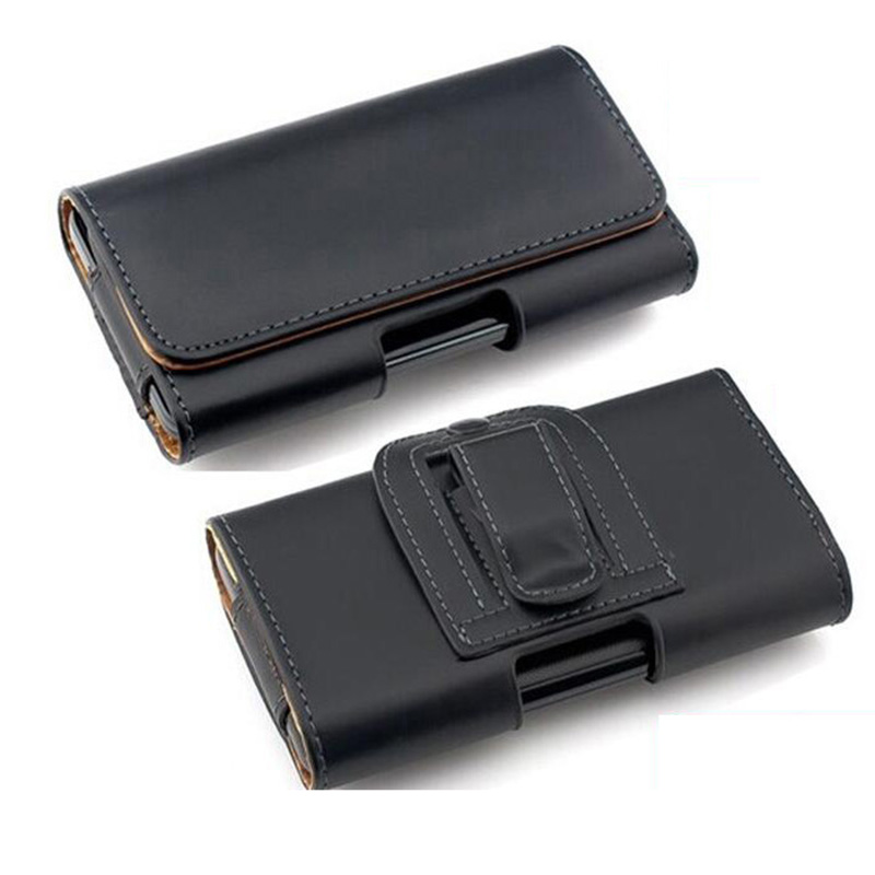 Universal Smartphone Bag <font><b>Belt</b></font> Clip Pouch Leather Case For Redmi Note 7 Huawei P20 Lite <font><b>iPhone</b></font> <font><b>X</b></font> 11 6 S Plus Xr <font><b>Xs</b></font> Max Capa image