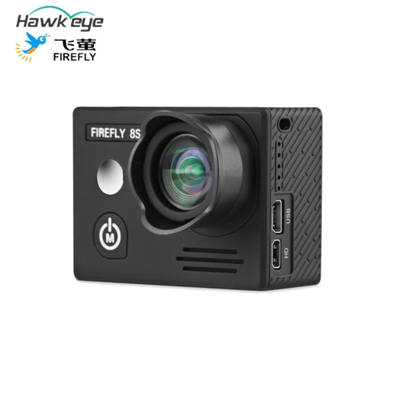 Hawkeye Firefly 8S 4K 90 Degree FOV HD Visual Angle WIFI FPV Sports Camera Six-axis Gyro Video Stabilization Supports Bluetooth