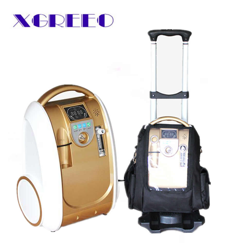 XGREEO Mini Portable Oxygen Generator Concentrator battery/travel/home use oxygen concentrator oxygen tank xgreeo new model portable oxygen concentrator oxygen generator home use oxygen concentrator for copd travel car use oxygen tank