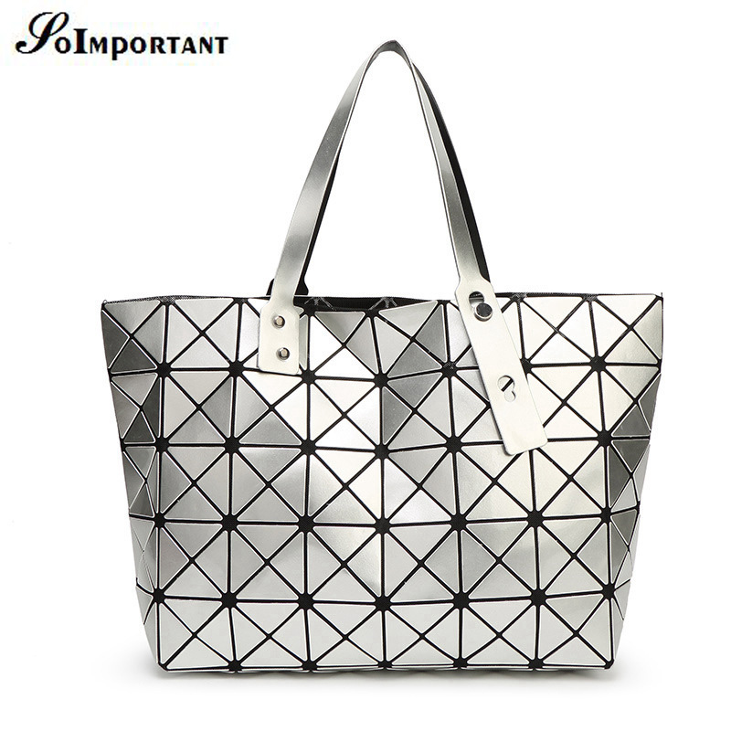 con logo mujeres bao bao baobao bolso femenino geometra espejo asa superior de playa viajes bolso