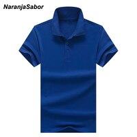 NaranjaSabor 2017 Summer New Men S Polos Men Brand Clothing Polo Shirt Cotton Short Sleeve Men