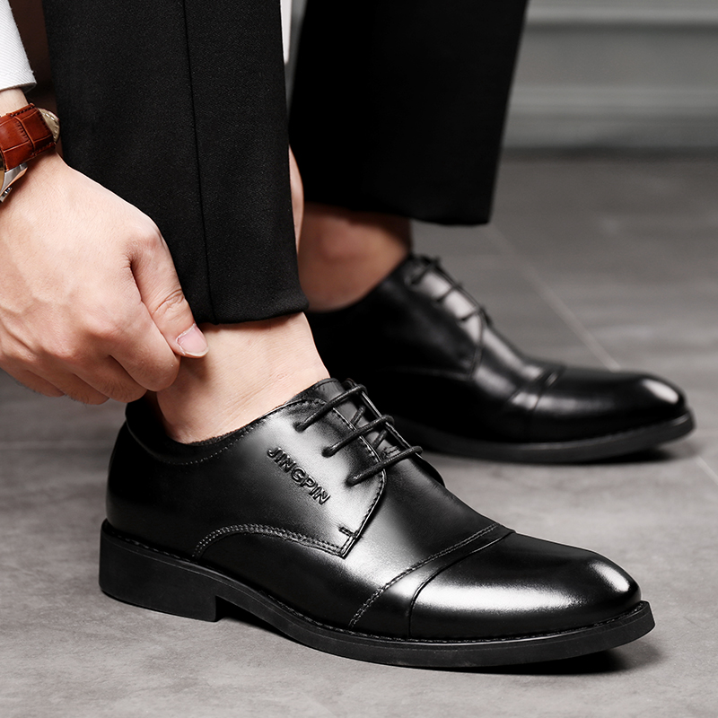 De D'affaires Noce Oxford Homme 2018 K4 Marque Hommes Pointu Classique Mode Luxe Cuir Chaussures Formelles Robe Black Bout marron SqHYqwO
