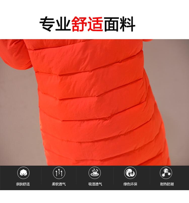 gray Le Filles Mi orange Vers long Capuchon Outwear H462 Sueur 3xl De yellow Rembourré Red Parkas green D'hiver Veste Froide rose Red Bas Coton Chaud And Black L Femmes 0qEBWw7