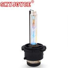 Skyjoyce 2 pçs 35w d2s carro hid lâmpada substituição d2c d2s 4300k 5000k 6000k 8000k k auto hid lâmpada do farol d2c d2s hid lâmpada