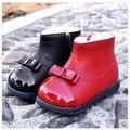 Nuevos 2016 botas de nieve botas zapatos de bebé de los niños zapatos de invierno para las muchachas Envío Gratis tendencia de La Moda Lindo Cómodo 1-942