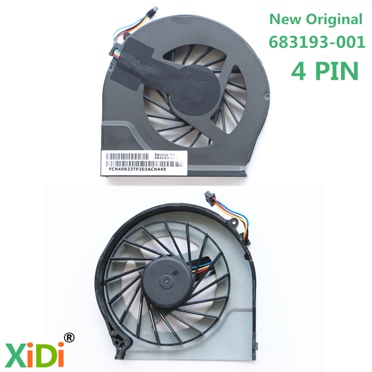 NEW Original CPU COOLING FAN FOR HP G4-2000 G4-2045TX G4-2006AX G6-2000 G6-2328TX G7-2000 CPU COOLING FAN 683193-001