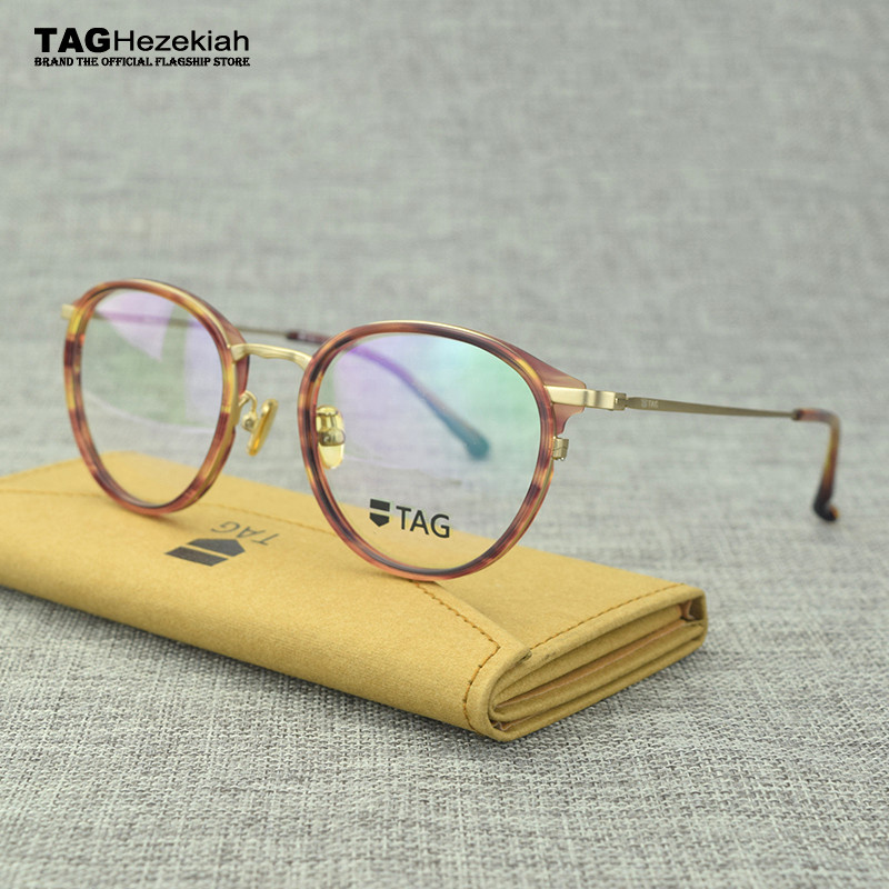 2017 new glasses frame men women Italian imports TAG designer ...