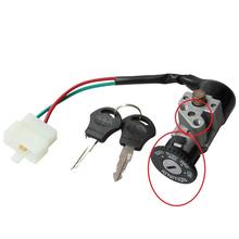 GOOFIT 2 Wire Single Key Ignition for Motorcycle H054-021