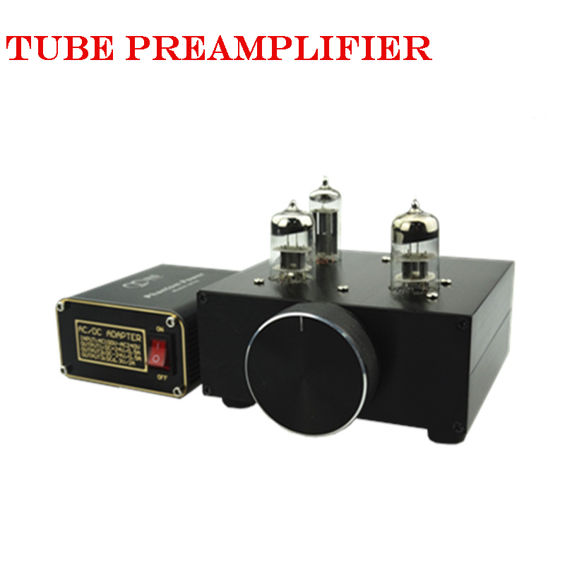 2016 New MATISSE AMP DC12V 2A Bile Preamp tube preamp Buffer 6N3 5670 TUBE Pre amp HIFI Audio TUBE Preamplifier +Power Supply music hall new 6h3n vacuum tube preamplifier hifi buffer pre amp matisse circuit