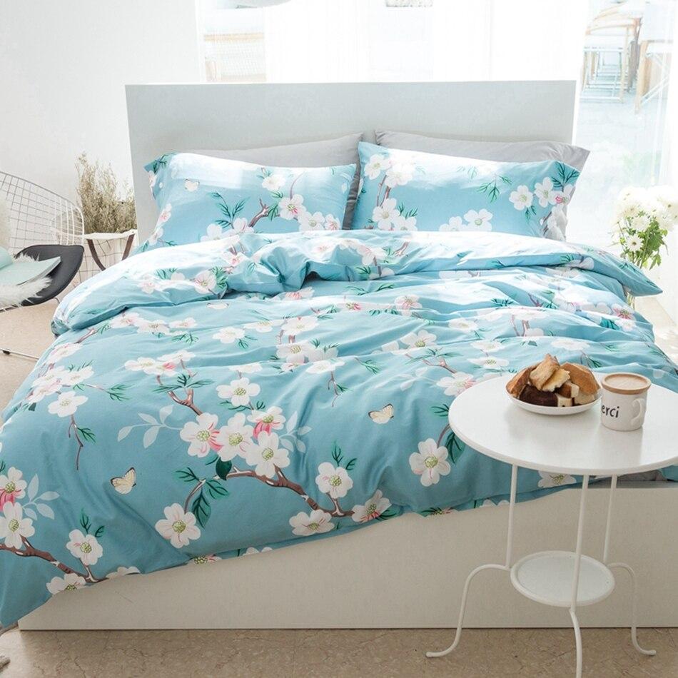 online get cheap bright floral bedding sets aliexpresscom  - natural egyptian cotton bedding set multisize floral duvet cover brightcolor quilt bed sheet