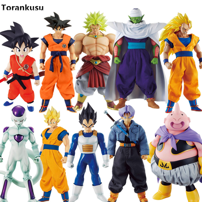 Dragon Ball Z Trunks Goku Vegeta Broly DOD Super Saiyan PVC Action Figure Anime Dragon Ball Z Model Toy Esferas Del Dragon dragon ball z broli 1 8 scale painted figure super saiyan 3 broli doll pvc action figure collectible model toy 17cm kt3195