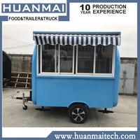Mobile Food Truck Food Kiosk BBQ Food Trailers Caravan Camper Trailer 2300x1850x2300mm