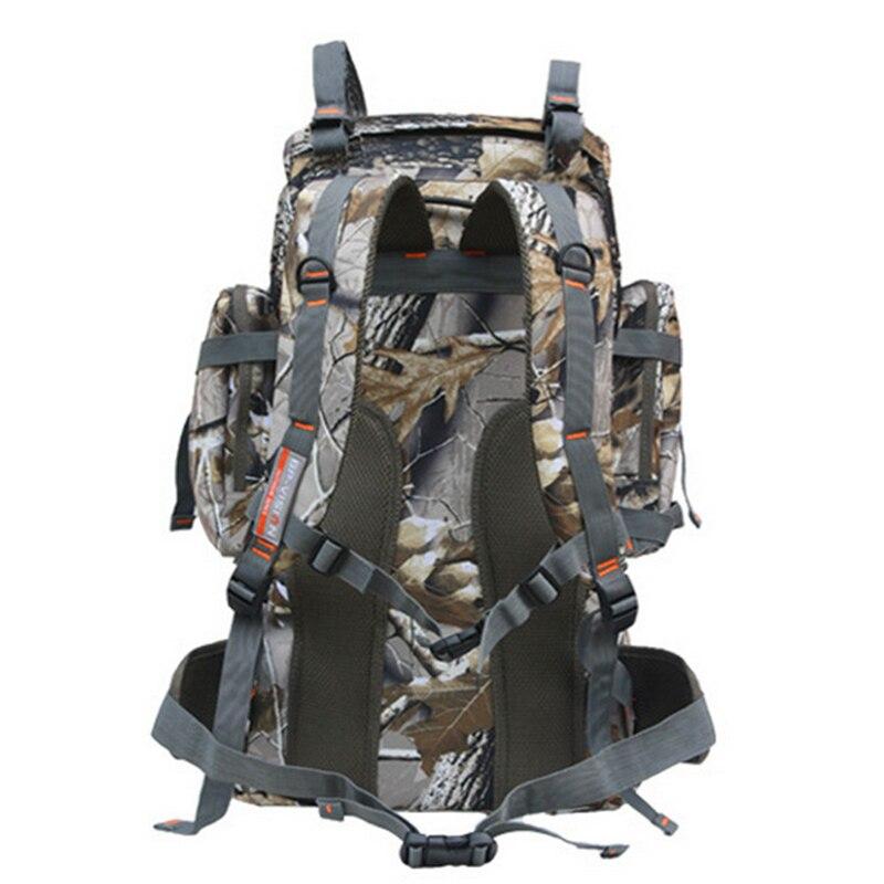 80L 3D sports de plein air militaire tactique escalade alpinisme sac à dos Camping randonnée Trekking sac à dos voyage camouflage sac