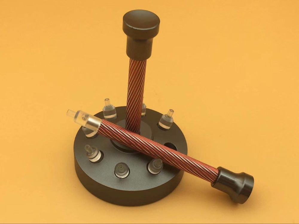 Free Shipping 1 Set Quality Acrylic Watch Hands Fitting Tool 8 Sizes Setting Press Presser Setter цена и фото