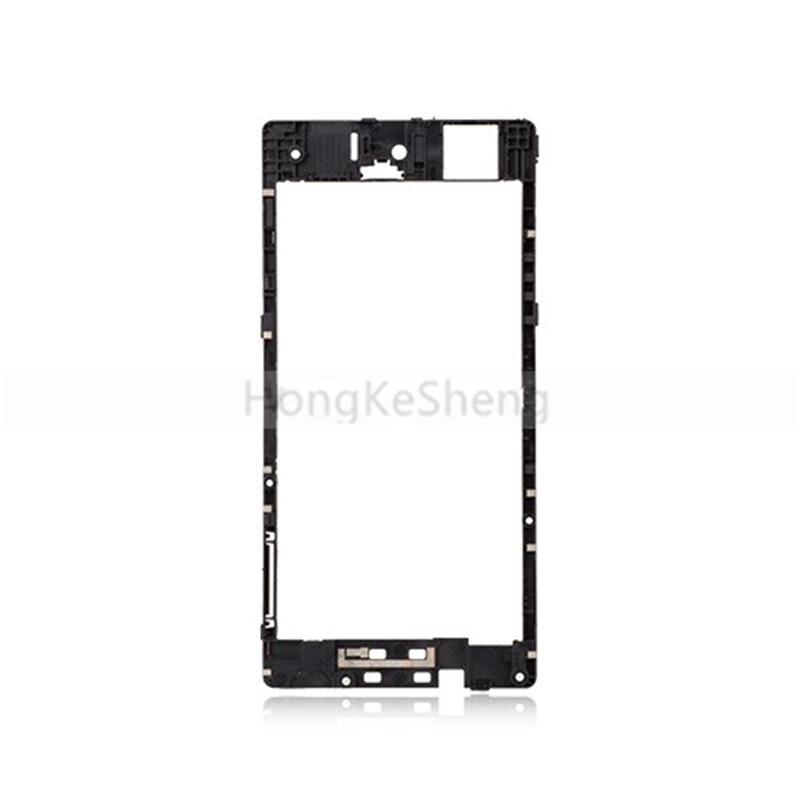 OEM Back Frame Rear Housing Middle Plate Frame Spare Part For Sony Xperia Z3 Mini  Z3 Compact M55W D5833 D5803 SO-02G Z3C
