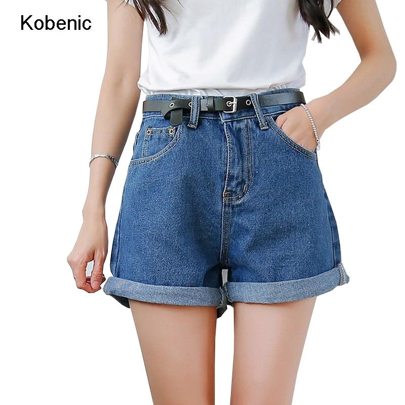 Solid Women Clothing Denim Shorts with Pockets New Arrival Harajuku Summer Ropa Mujer Slim Short ...