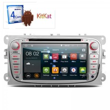 Android 4.4  Car dvd Player GPS Navigator For Ford Focus Mondeo S-MAX C-MAX Transit Connect Tourneo Connect radio player