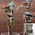 Anime New Sword Art Online II Aquamarine Asada Shino 3 PVC Action Figure Brinquedos Collection Model Kids Toys Christmas Gift