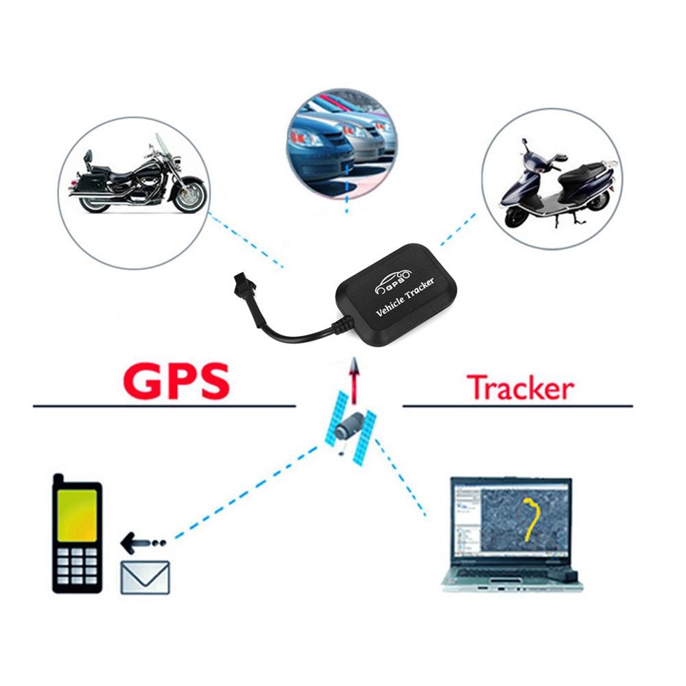 Mini Motorcykel GPS Tracker Bil GPS LBS GPRS Positioning Device - Bilelektronik