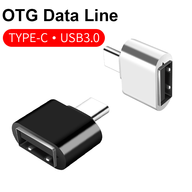 Type C To OTG Adapter Converter USB C 3.0 Adaptor To TypeC USB-C Port Adapter Connector Charging Data Sync For Huawei Xiomi