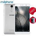"Y6 DOOGEE Макс 3D Смартфон 4 Г Мобильного Телефона 6.5 ""3D Экран MTK6750 окта-ядерный ПРОЦЕССОР 3 ГБ + 32 ГБ Android 6.0 4300 мАч Батареи Мобильного Телефона"