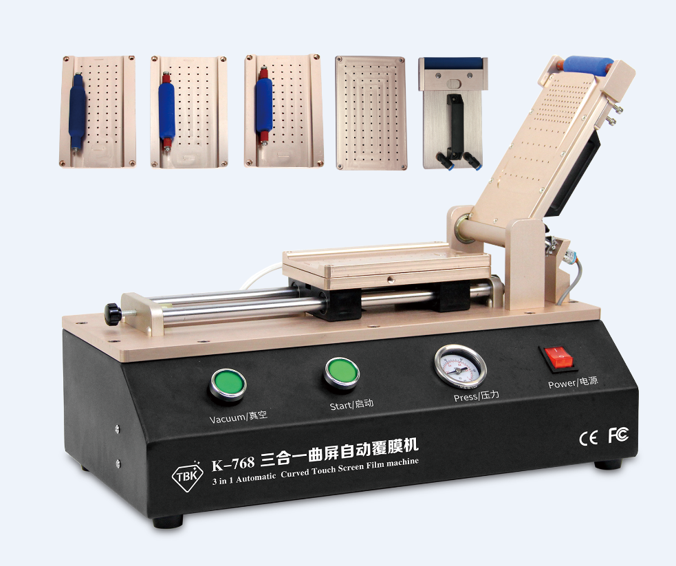 Universal LCD OCA Film Laminating Machine For iPhone Samsung Screen Repair with 4 moulds universal S6 S6+ S7 Edge  цены