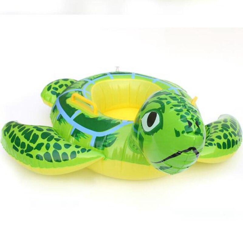 Amysh 90 см летняя черепаха формы детские надувные малыш Одежда заплыва Плавание сиденья Float бассейн Fish кольцо водные надувные игрушки игрушки